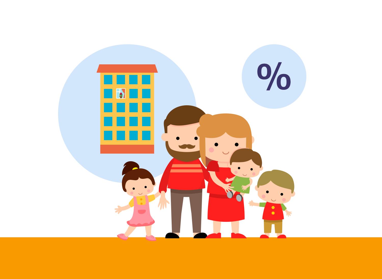 Ипотека может быть с разными условиями для разного типа жилья